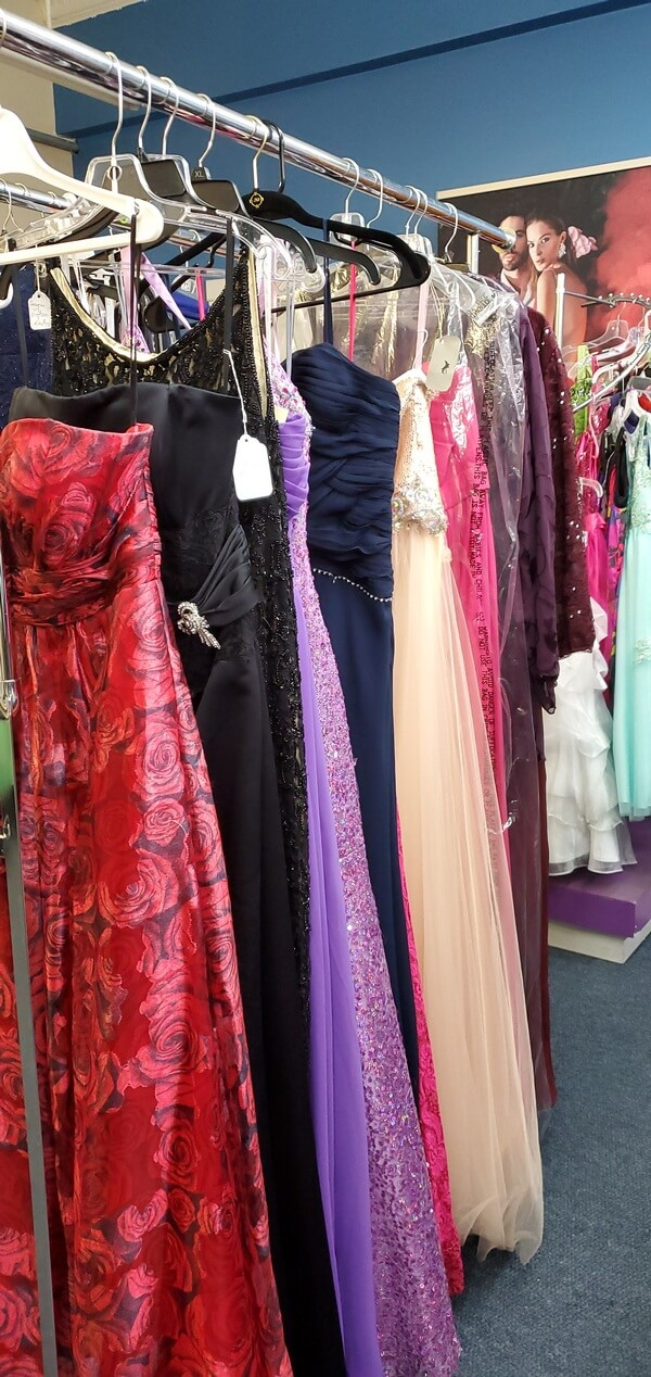 Consigment prom and homecoming dresses