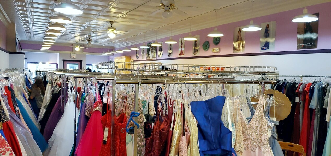 Inside Uniquely Yours in downtown Circleville